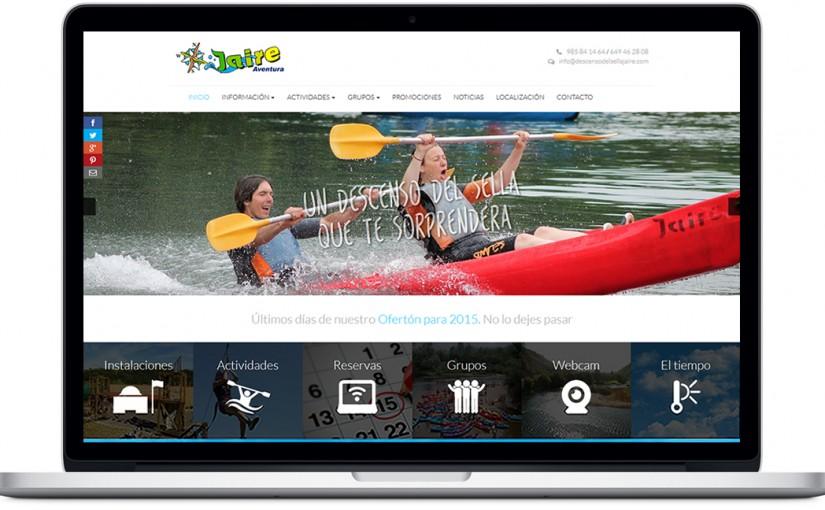 Nueva página web de Jaire Aventura
