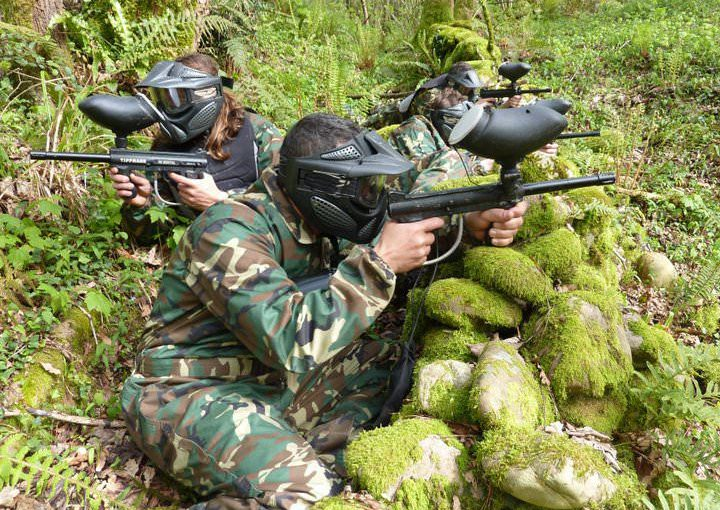 Paintball en Asturias como actividad recreativa