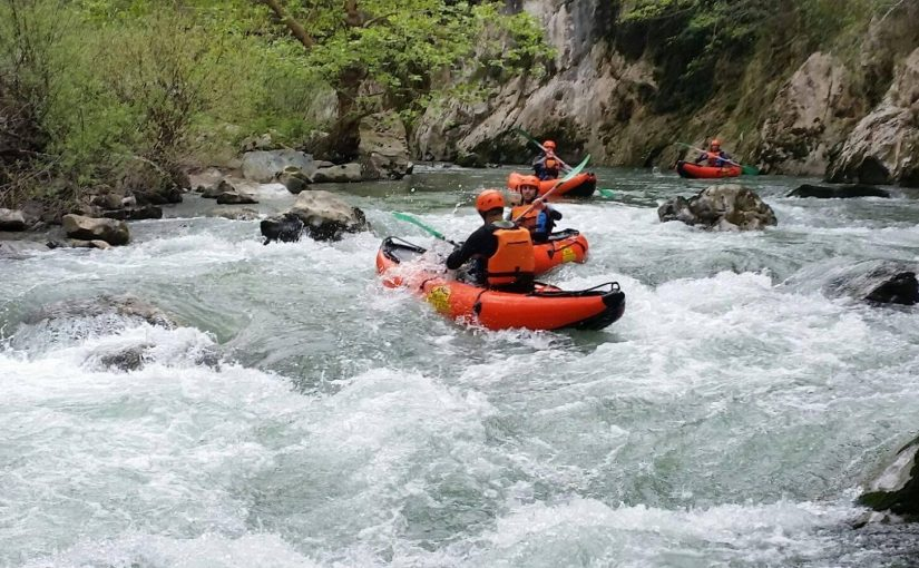 Canoa Raft en Asturias